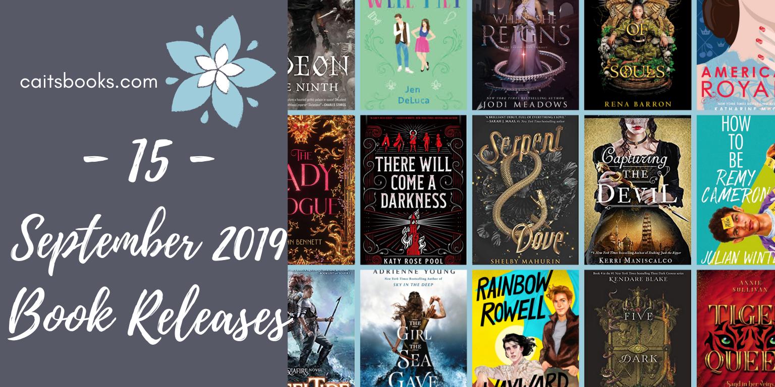 15 September 2019 Book Releases