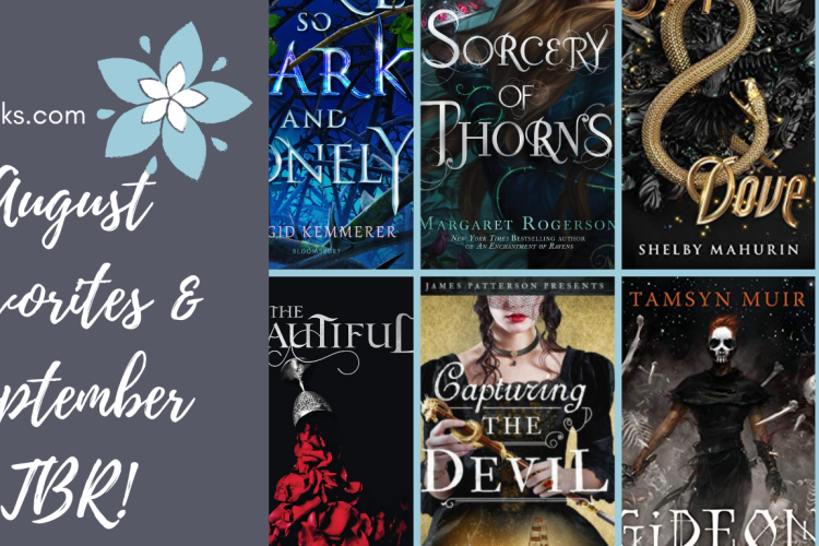 Caitsbooks.com August Favorites and September TBR 2019