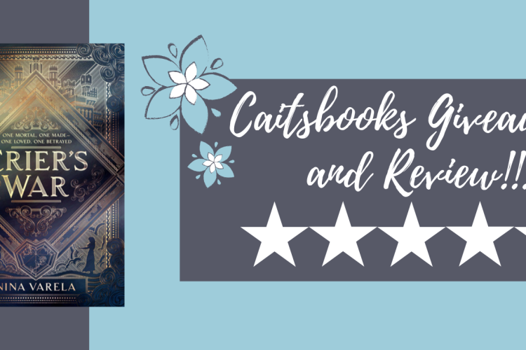 Caitsbooks Review and Giveaway: Crier's War by Nina Varela (5 Stars)
