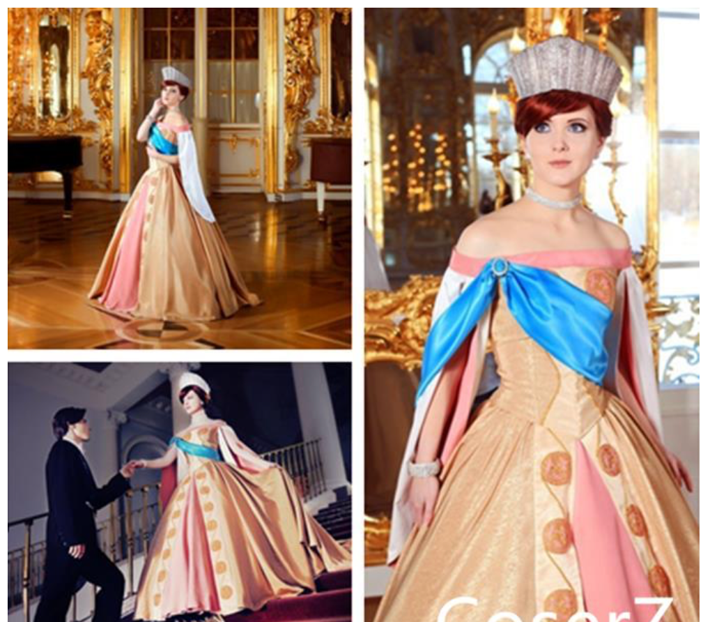 Real Anastasia Dress