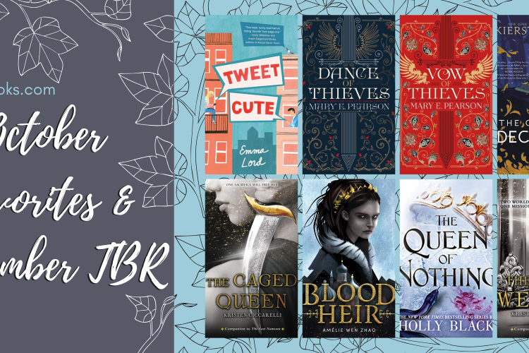 caitsbooks.com October Favorites + November TBR