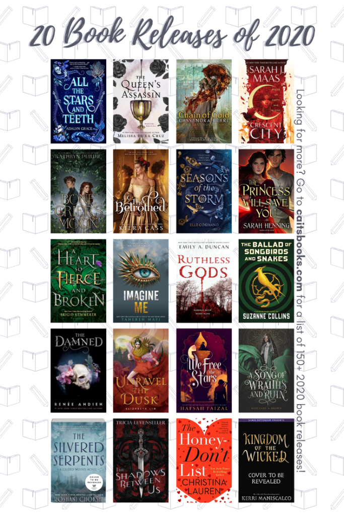 20 Book Releases of 2020 Releases