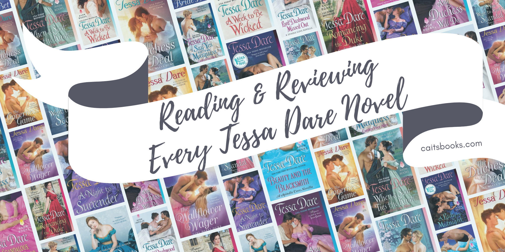 Reading and reviewing every Tessa Dare novel