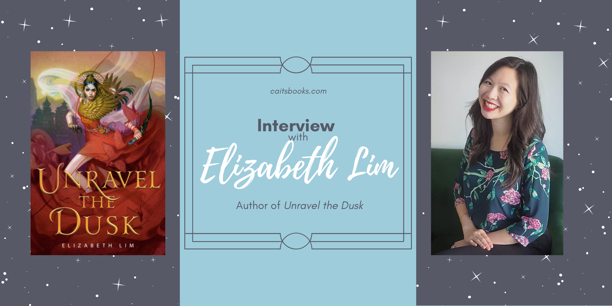 Elizabeth Lim Unravel the Dusk Interview