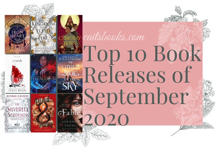 Top 10 September 2020 Book Releases