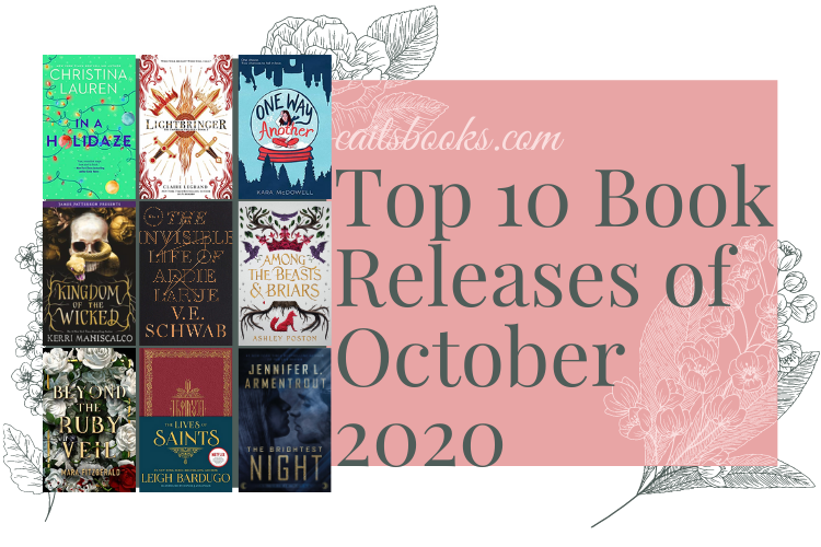 Top 10 October Book Releases 2020