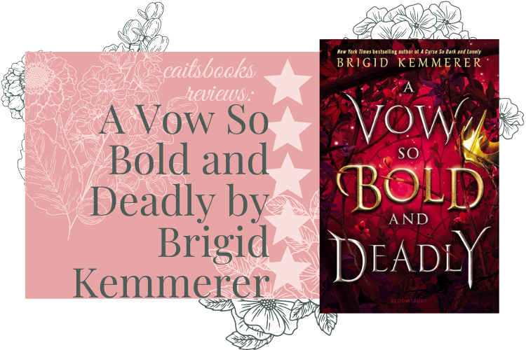 A Vow So bold and Deadly by brigid kemmerer review